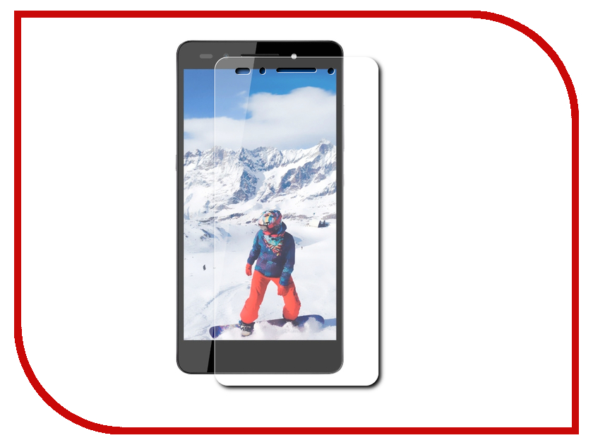 ��������� �������� ������ Huawei Honor 7 Red Line Tempered Glass