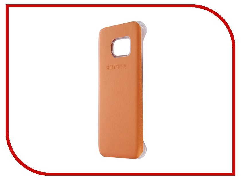Аксессуар Чехол-накладка Samsung Galaxy S7 Activ Case S View Cover Wallet Orange 58118