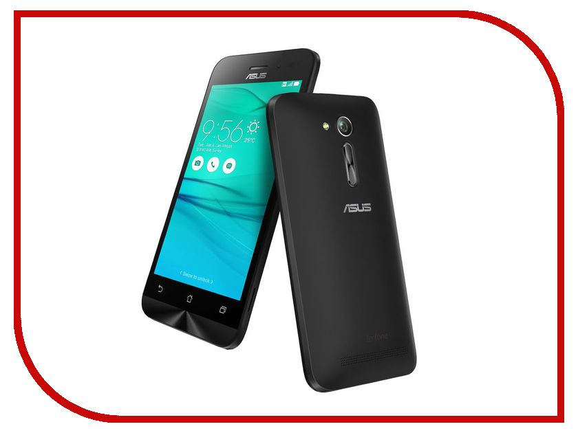 Сотовый телефон ASUS ZenFone Go ZB452KG Black<br>