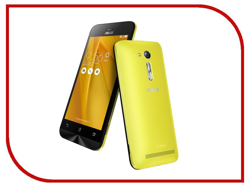 Сотовый телефон ASUS ZenFone Go ZB452KG Yellow<br>