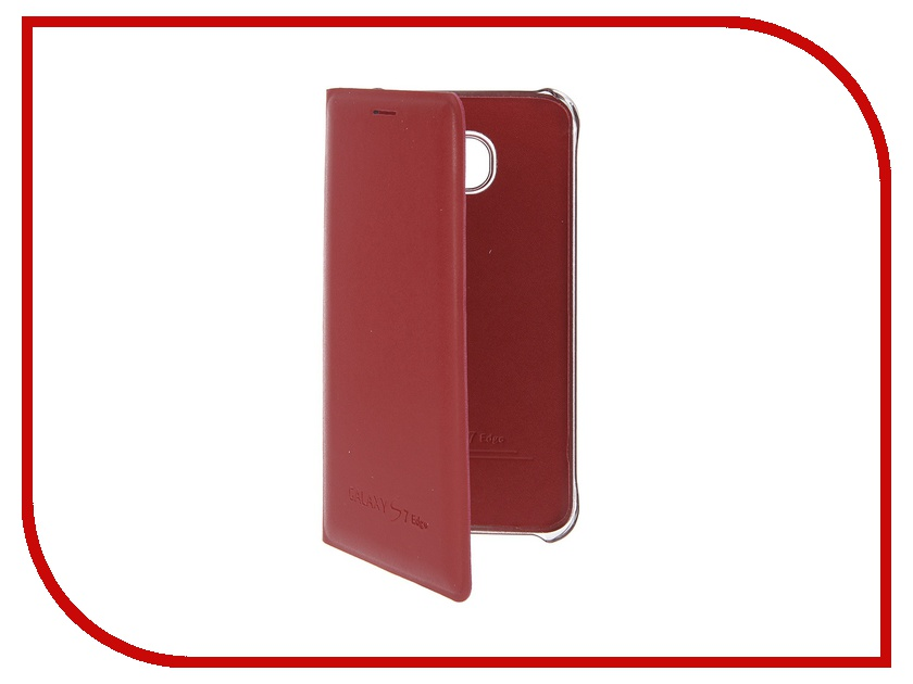 Аксессуар Чехол Samsung Galaxy S7 Edge Activ Book Case S View Cover Wallet Red 58070<br>
