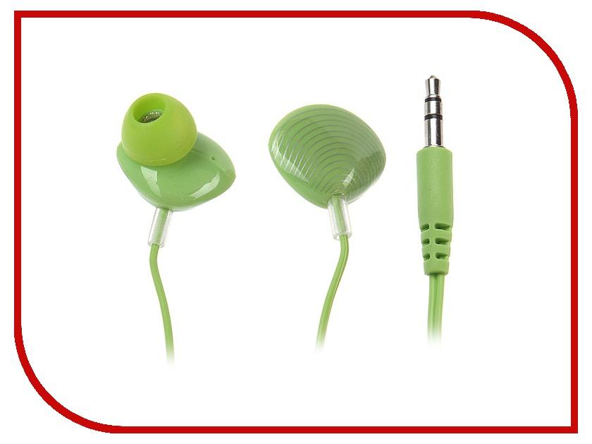 Наушники Kids-mobile Ракушки Green<br>