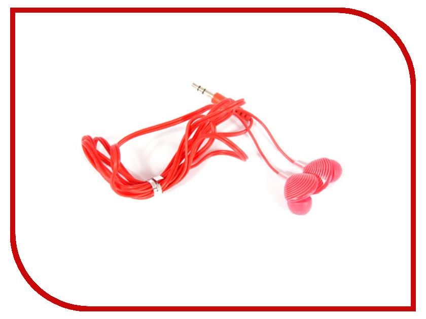 Наушники Kids-mobile Ракушки Red<br>
