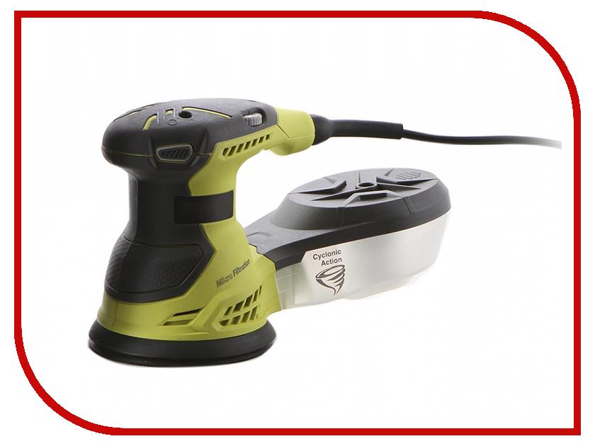 Шлифовальная машина Ryobi ROS300A 3001142 эксцентриковая шлифовальная машина ryobi dse 5200 150 180mm