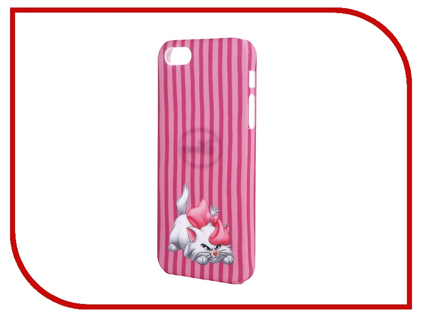 Аксессуар Крышка задняя Disney для iPhone 5 Марвел Кошка Мари<br>