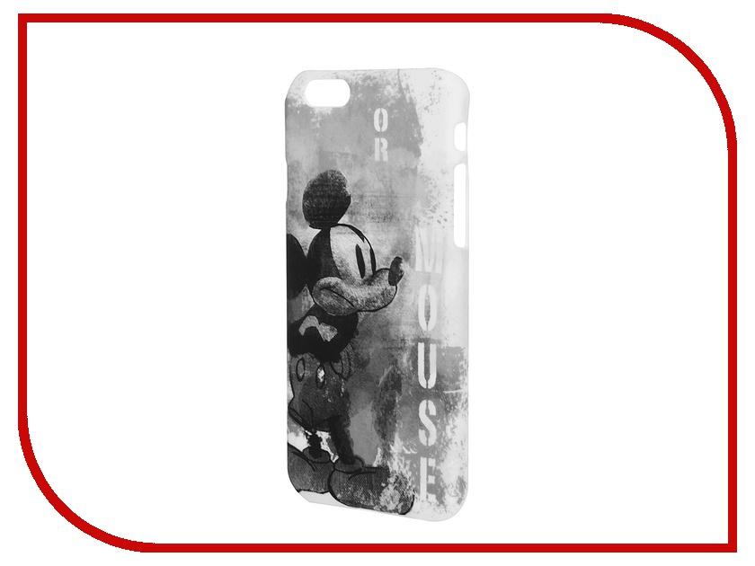 Аксессуар Крышка задняя Disney для iPhone 6 Марвел Микки Black-White<br>