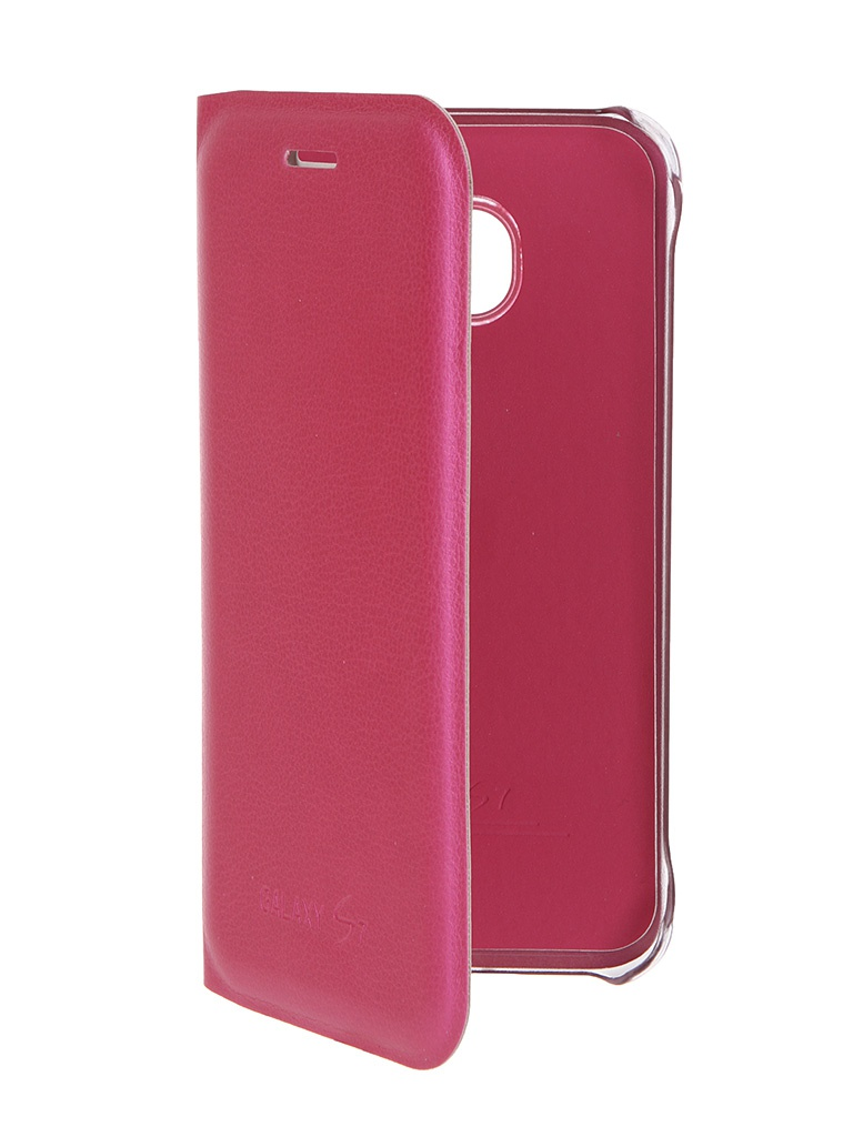 Аксессуар Чехол Samsung Galaxy S7 Activ Book Case S View Cover Wallet Rose 58064<br>