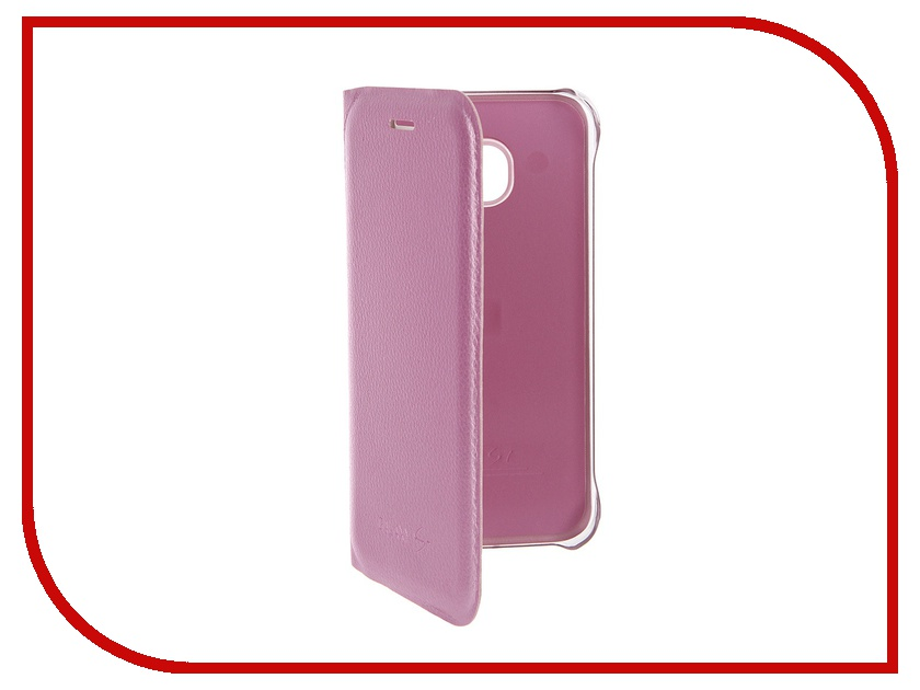 Аксессуар Чехол Samsung Galaxy S7 Activ Book Case S View Cover Wallet Pink 58062<br>