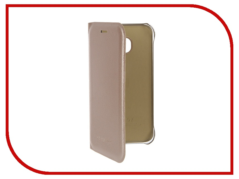 Аксессуар Чехол Samsung Galaxy S7 Activ Book Case S View Cover Wallet Gold 58061<br>