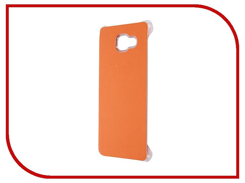 Аксессуар Чехол-накладка Samsung Galaxy A7 2016 Activ Case S View Cover Wallet Orange 58090<br>