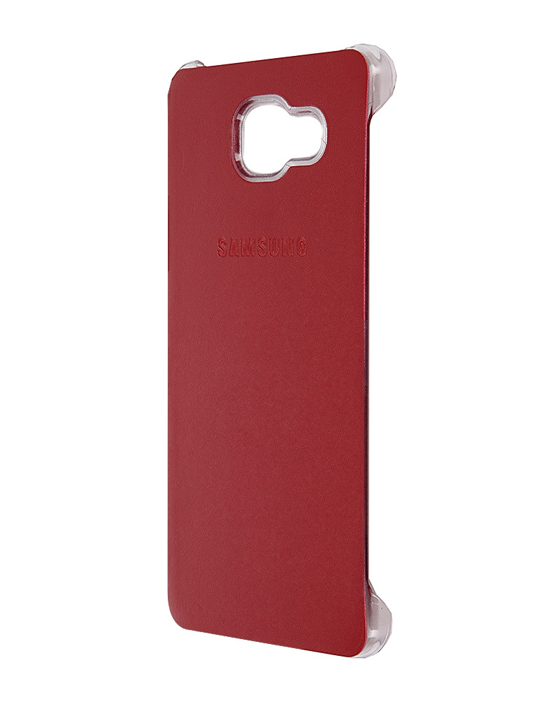 Аксессуар Чехол Samsung Galaxy A5 2016 Activ Case S View Cover Wallet Red 58084<br>