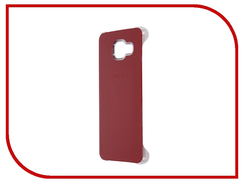 Аксессуар Чехол-накладка Samsung Galaxy A3 2016 Activ Case S View Cover Wallet Red 58077<br>