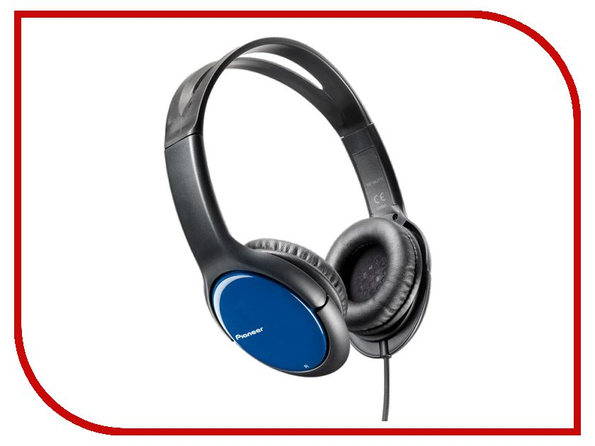 Наушники Pioneer SE-MJ711-L Blue гарнитура pioneer se mj771bt black