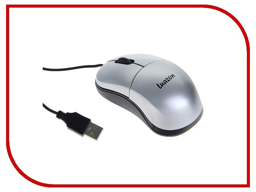 Мышь проводная Luazon L-052 Silver 1253140