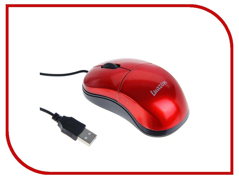 Мышь проводная Luazon L-051 Red 1253139