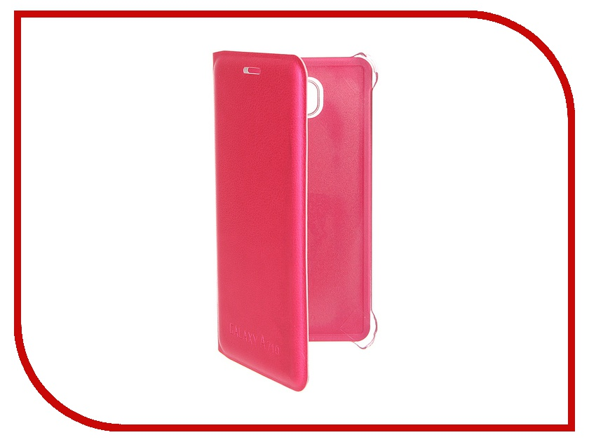 все цены на  Аксессуар Чехол Samsung Galaxy A7 2016 Activ Book Case S View Cover Wallet Rose 58043  онлайн