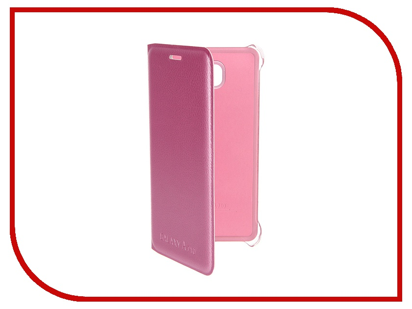 Аксессуар Чехол Samsung Galaxy A7 2016 Activ Book Case S View Cover Wallet Pink 58041