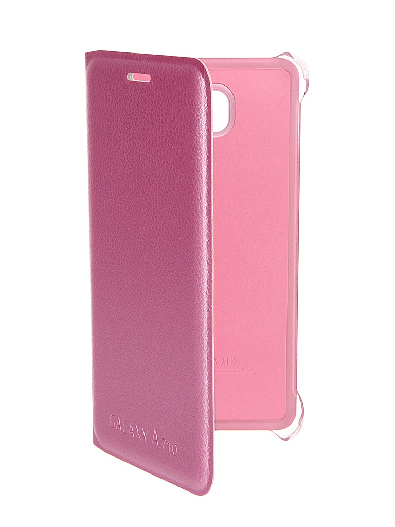Аксессуар Чехол Samsung Galaxy A7 2016 Activ Book Case S View Cover Wallet Pink 58041<br>