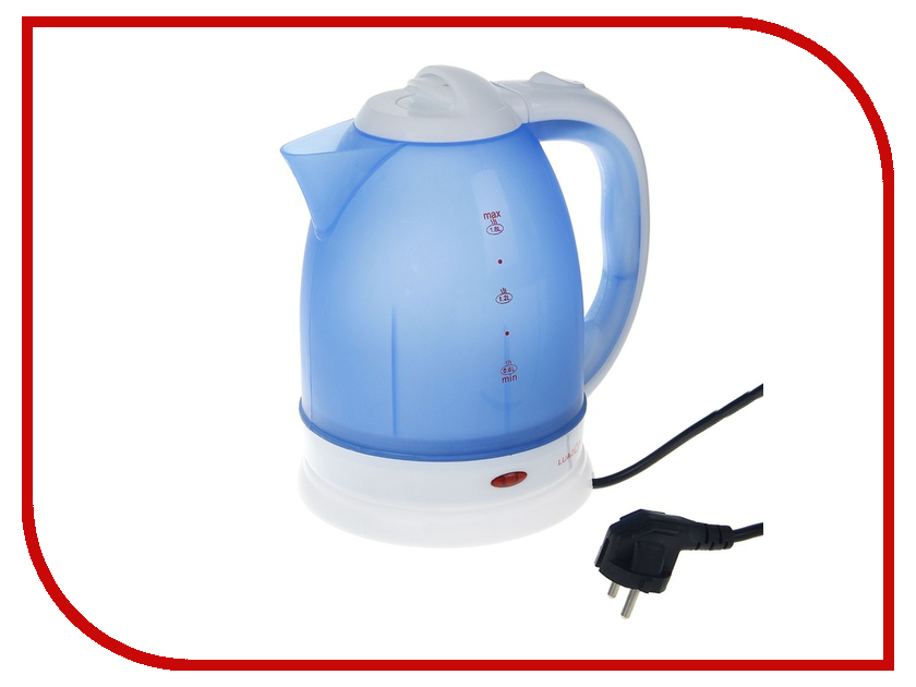 Чайник Luazon LPK-1807 Blue 1129049<br>
