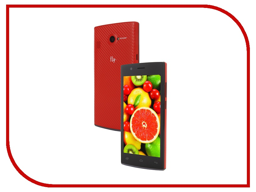 Сотовый телефон Fly FS451 Nimbus 1 Red<br>