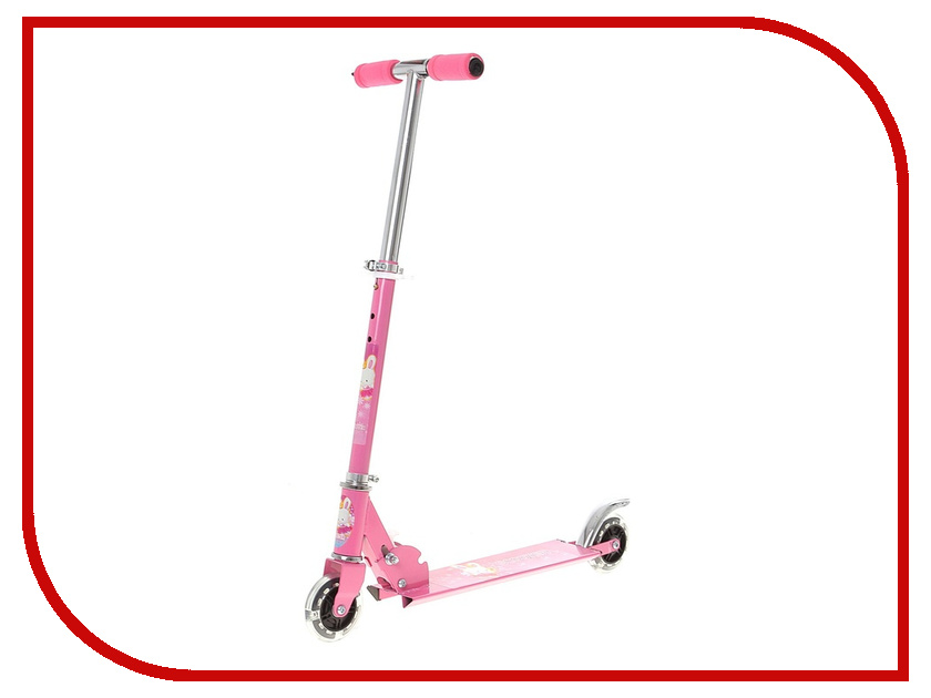 Самокат СИМА-ЛЕНД OT-507 Pink 134291 самокат сима ленд ot 20 blue 134330