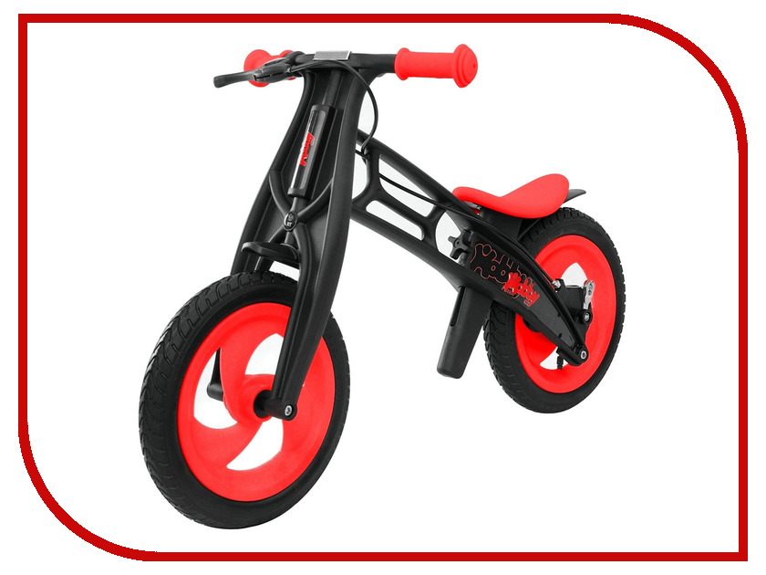 Беговел RT Hobby-bike FLY B Черная оса Red-Black беговел rt hobby bike fly b черная оса kiwi black