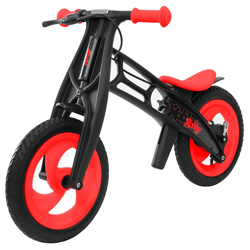 Беговел RT Hobby-bike FLY B Черная оса Red-Black<br>