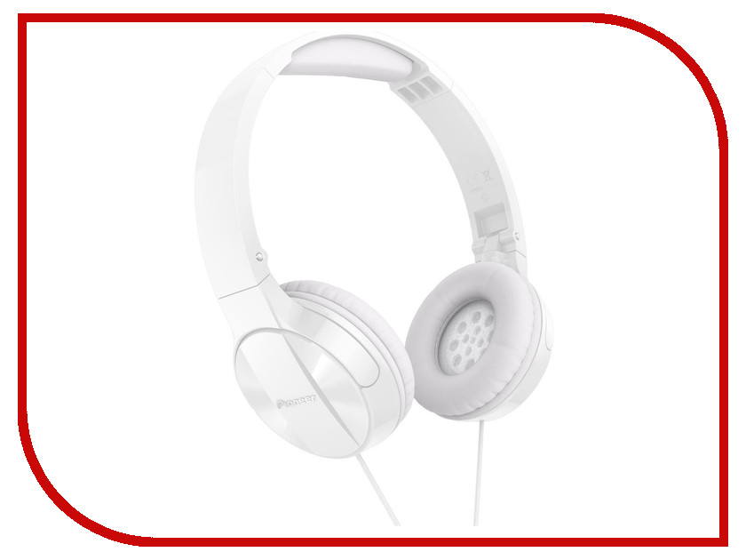Наушники Pioneer SE-MJ503 White гарнитура pioneer se mj771bt black