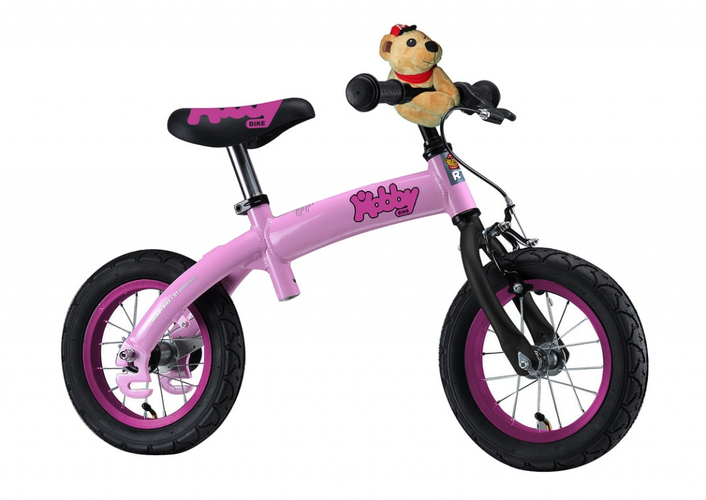 Беговел RT Hobby-bike ALU NEW 2016 Pink
