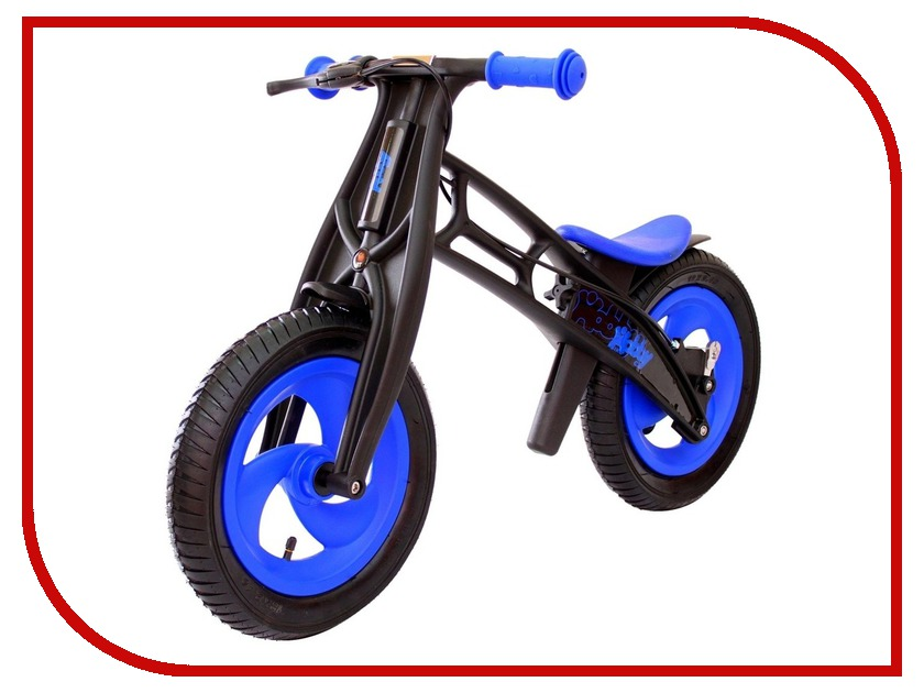 Беговел RT Hobby-bike FLY A Черная оса Blue-Black<br>