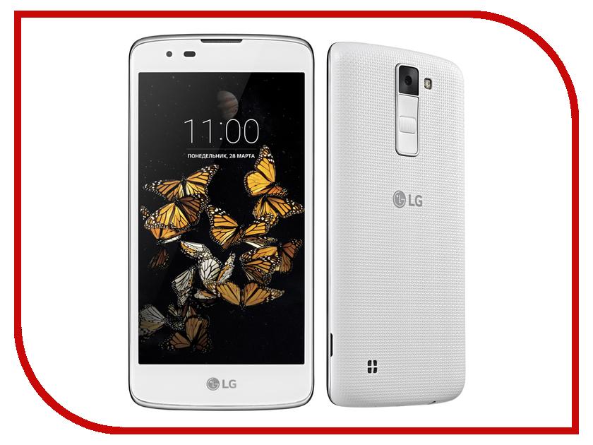 Сотовый телефон LG K350E K8 White<br>