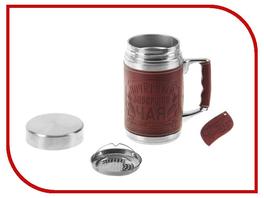 Термокружка СИМА-ЛЕНД Почетный заварщик чая 350мл 138285<br>