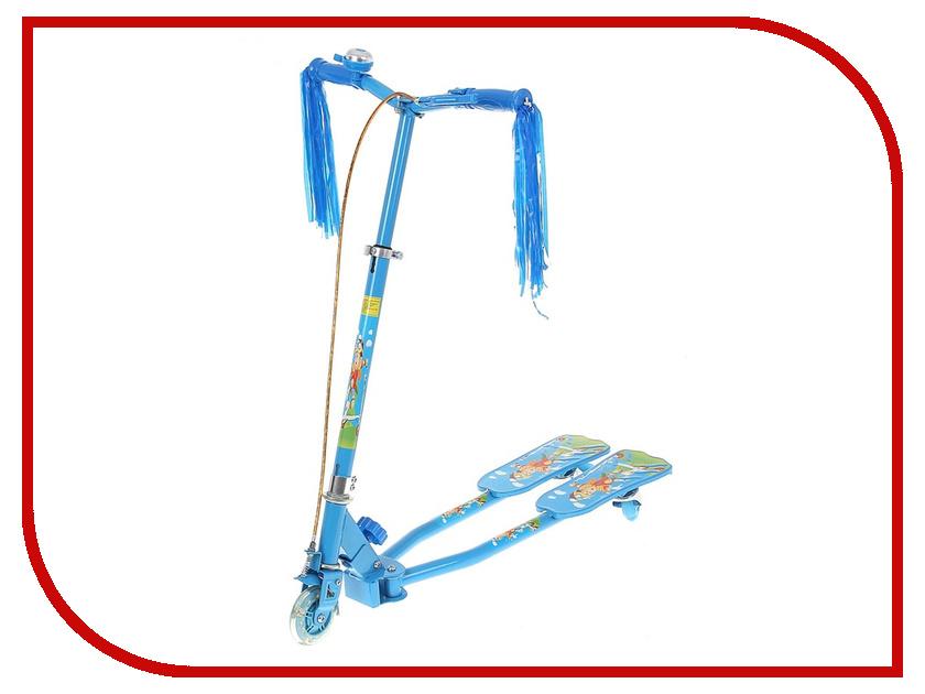 Самокат СИМА-ЛЕНД Flicker OT-3002 Blue 134343 самокат сима ленд ot 20 blue 134330
