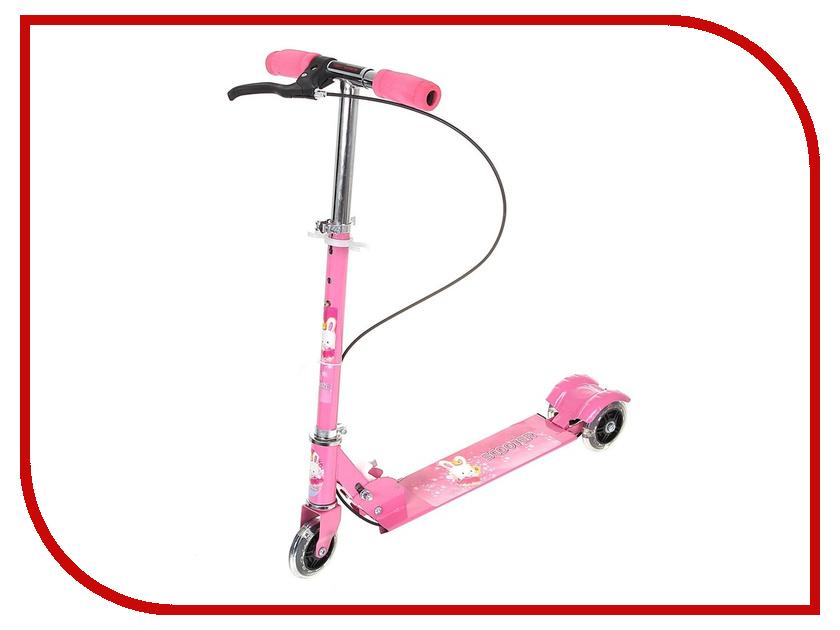 Самокат СИМА-ЛЕНД 508PS Pink 892620<br>