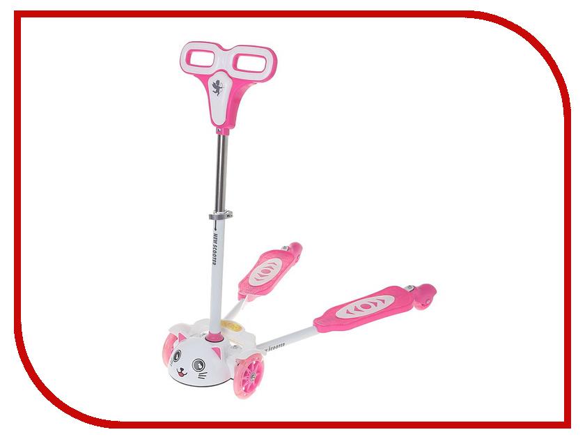 Самокат СИМА-ЛЕНД Flicker OT-25-2 Pink 1224218 самокат сима ленд ot 993 pink 134325