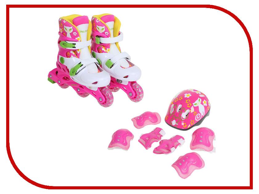 Коньки Onlitop Pink-Green 30-33 1231408<br>