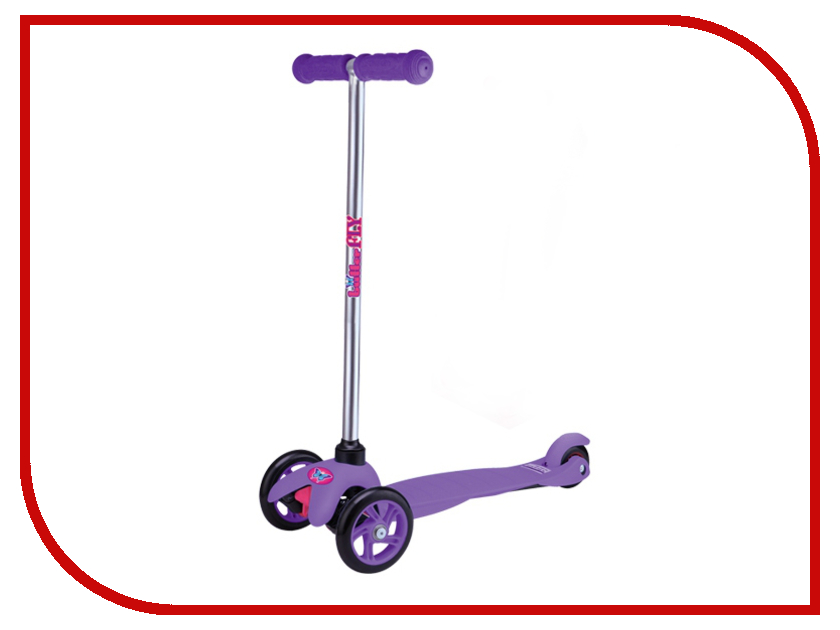 Самокат ButterFly BF3 Purple