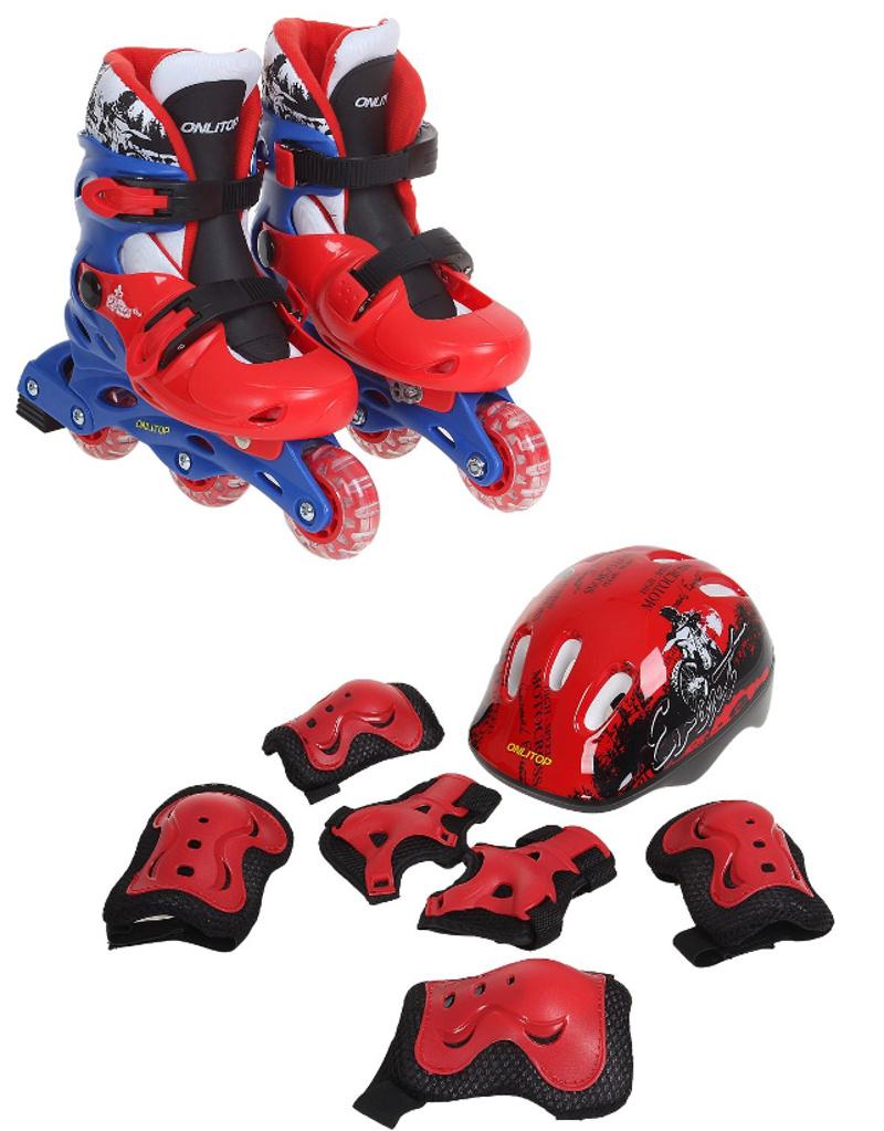 Коньки Onlitop Red-Black 30-33 1231414<br>