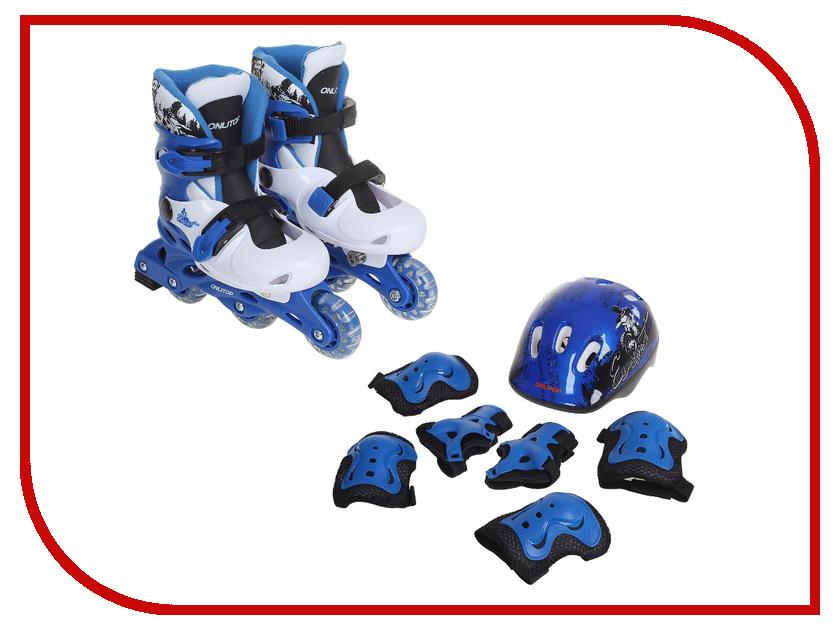 Коньки Onlitop 34-37 Blue-Black 1231418