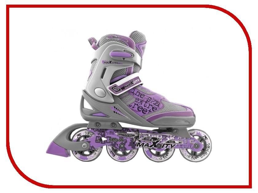 Коньки Maxcity Spark Violet 32-35