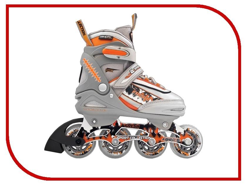 Коньки Спортивная Коллекция Fresh Orange 31-34