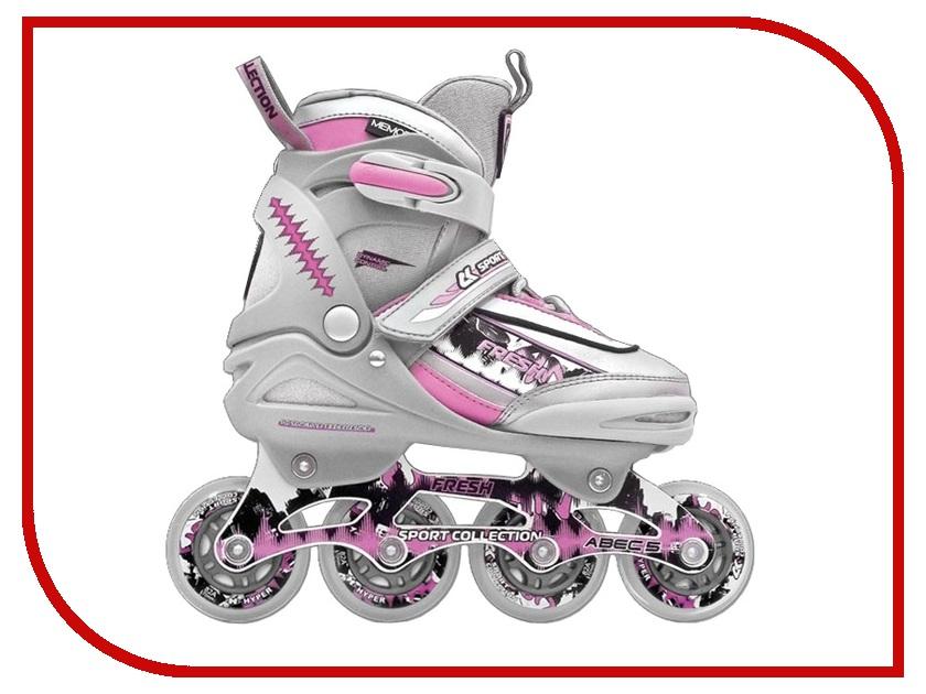 Коньки Спортивная Коллекция Fresh Pink 31-34<br>