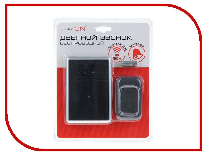 Звонок дверной Luazon LZDV-12-1 Black 1196313