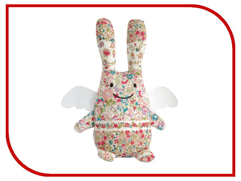 Игрушка Trousselier Musical Angel Bunny 24Cm VM1082 98 Red Flowers<br>