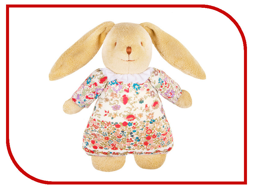 Игрушка Trousselier Musical Bunny Fluffy 25Cm VM791 98 Red Flowers<br>