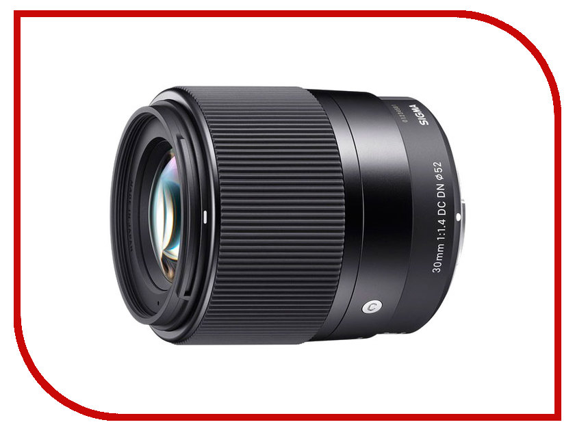 Объектив Sigma Micro 4/3 AF 30 mm F/1.4 DC DN Contemporary for Micro Four Thirds объектив sigma af 19mm f 2 8 dn a для micro four thirds черный