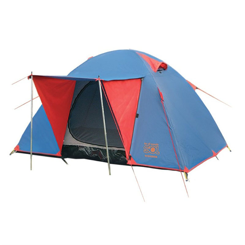 Палатка Sol Wonder 3 Blue SLT-006.06<br>
