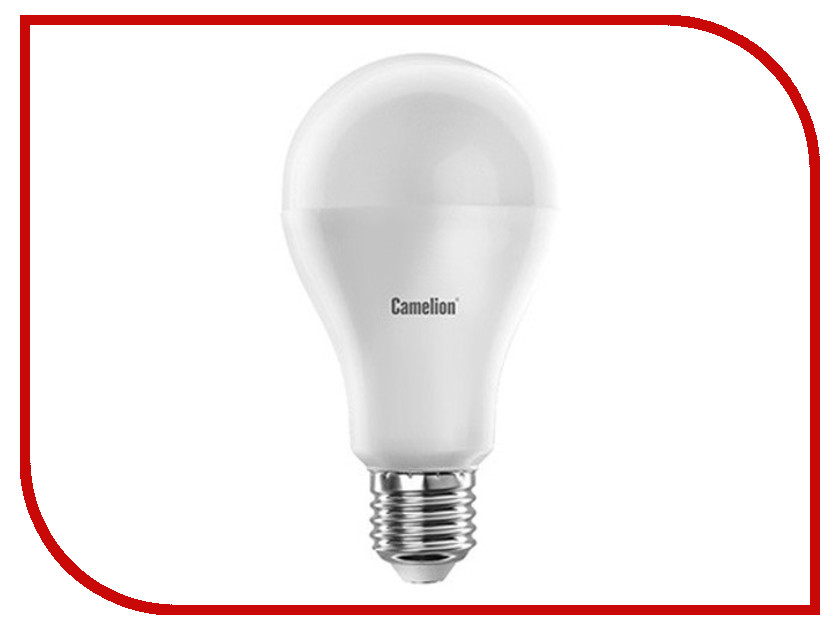 Лампочка Camelion A65 14W 220V E27 4500K 1330 Lm LED14-A65/845/E27<br>