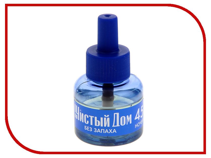 Средство защиты от комаров Чистый дом 1087401 - жидкость 45 ночей<br>