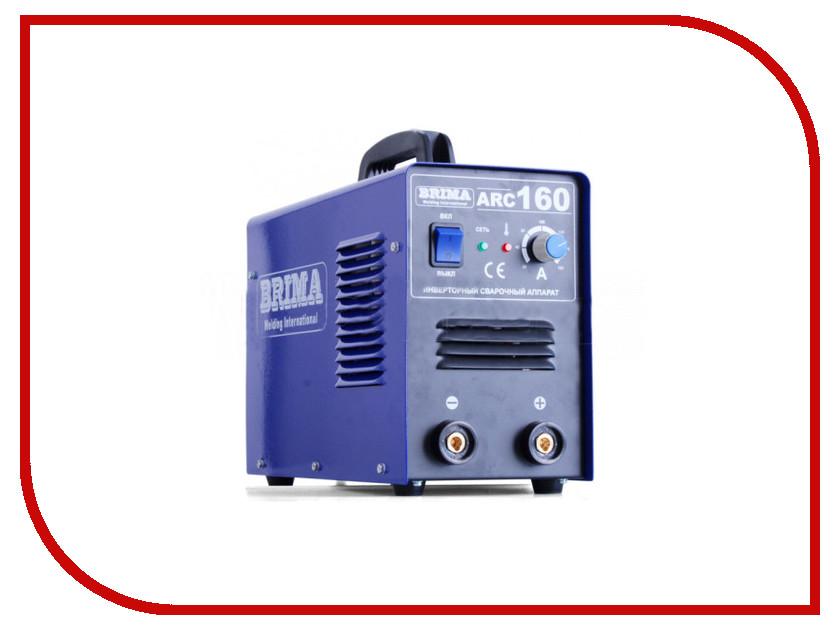 Сварочный аппарат BRIMA ARC 160 аппарат инверторный brima arc 200b
